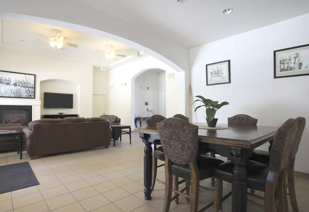 A view of Belcourt Apartments model apartment showing how beautiful the units are